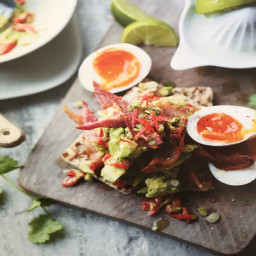 Smashed Avocado With Kevin Bacon