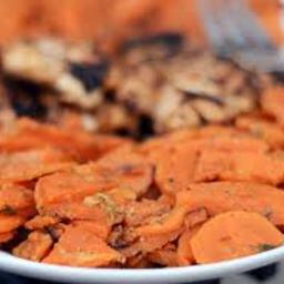 Smoke Chile Scalloped Sweet Potatoes