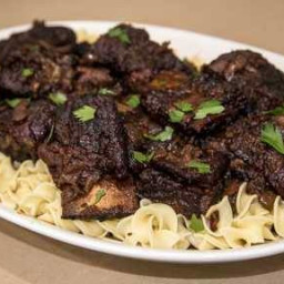 Smoked And Braised Beef Short Ribs Sorta Provencal Recipe