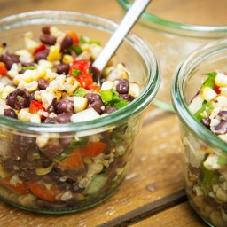 Smoked Corn and Black Bean Salad