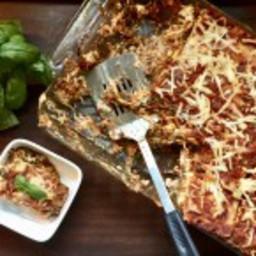 Smoked Gouda and Collard Veggie Lasagna