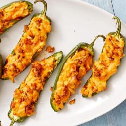 Smoked Gouda-Chorizo Jalapeno Poppers