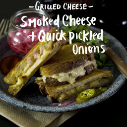 Smoked Grilled Cheese Recipe