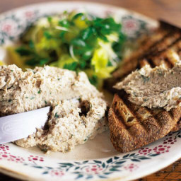 Smoked Mackerel Pate with Griddles Toast & Cress Salad