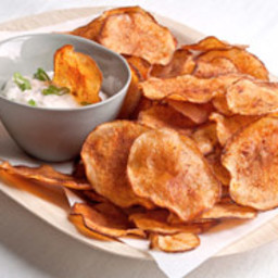 Smoked Paprika Potato Chips