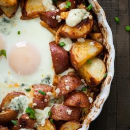 Smoked Paprika Red Potato and Egg Bake