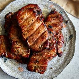 Smoked Pork Chops (Reverse Sear Method)