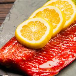 Smoked salmon Dry Brine (Joe Thorton)