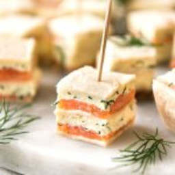 Smoked Salmon Bites (Appetizer)
