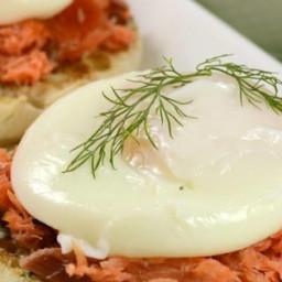 Smoked Salmon Dill Eggs Benedict Recipe