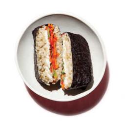 Smoked Salmon Sushi Sandwiches