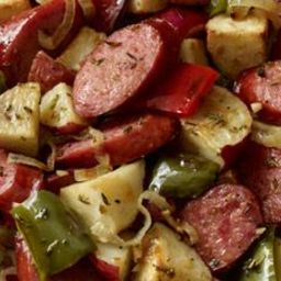 Smoked Sausage Potato Bake