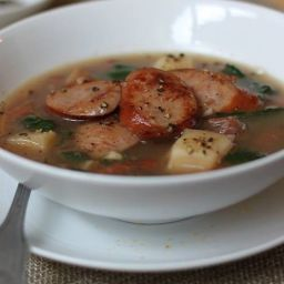 Smoked Sausage Soup