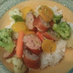 Smoked Sausage & Vegetable Stir Fry
