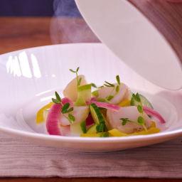 Smoked Sous Vide Scallop Salad Recipe
