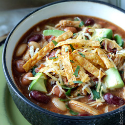 Smoky BBQ Chicken Chili (Slow Cooker or Stove Top)