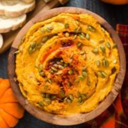 Smoky Chipotle Pumpkin Hummus