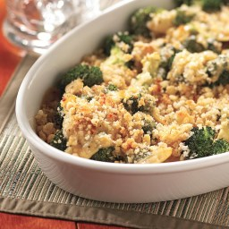 Smoky Gouda-Sauced Broccoli