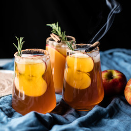 Smoky Harvest Apple Cider Margaritas