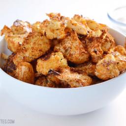 Smoky Parmesan Roasted Cauliflower