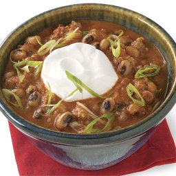 Smoky Pork Chili with Black-Eyed Peas