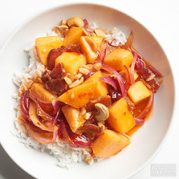 Smoky Sweet and Sour Cantaloupe