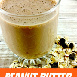 Smoothie Recipe - Creamy Peanut Butter Smoothie