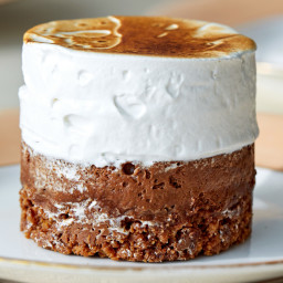 S'mores Chocolate Mousse