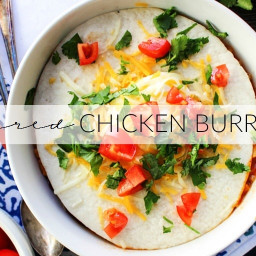Smothered Chicken Burrito Soup