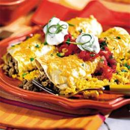 Smothered Enchiladas