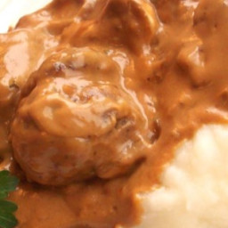 Smothered Meatballs Recipe
