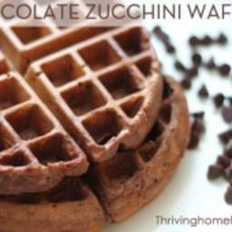 Sneaky Chocolate Waffles