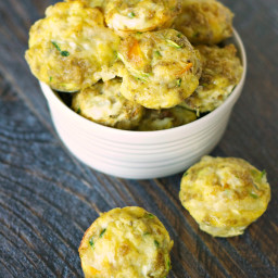 Sneaky Veggie Quinoa Breakfast Bites