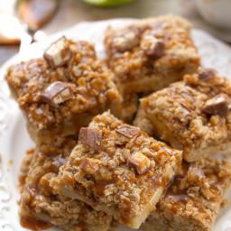 Snickers Caramel Apple Pie Bars