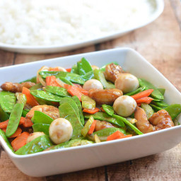 Snow Peas and Shrimp Stir-fry