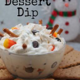 Snowman Dessert Dip