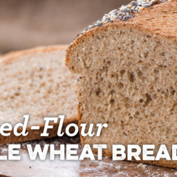 Soaked-Flour Whole Wheat Bread