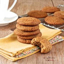 Soft and Chewy Ginger Cookies (gluten  and  grain free)