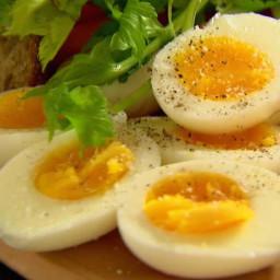 Soft Hard-Boiled Eggs