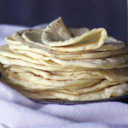 Soft Homemade Flour Tortillas {Butter Recipe}
