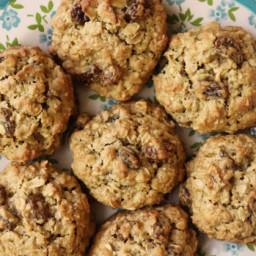 Soft Oatmeal Raisin Cookies No Butter