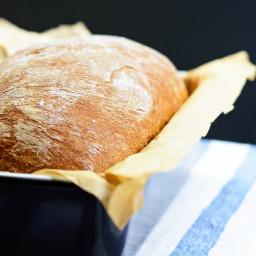 Soft Rye Sandwich Bread