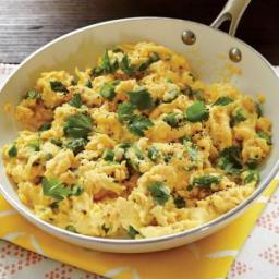 Soft-Scrambled Eggs with Asparagus