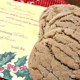 Soft Ginger Molasses Cookies-Video