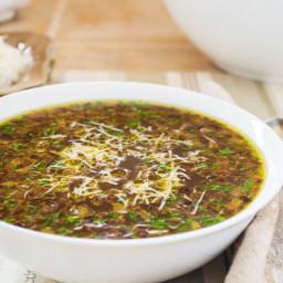 Sopa de Cebolla Clara (Spanish Onion Soup)