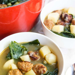 Soul Warming Caldo Verde Soup