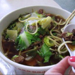 Soup beef noodle CHINESE