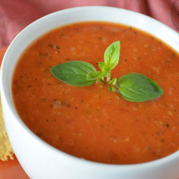 Soup - Tomato Basil Bisque