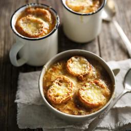 Soupe à l'oignon (la meilleure)