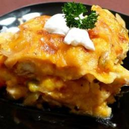 Souper King Ranch Chicken Casserole